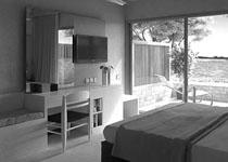 Φωτορεαλισμός δωματίου ξενοδοχείου