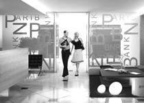 Φωτορεαλισμός εσωτερικών χώρων τράπεζας