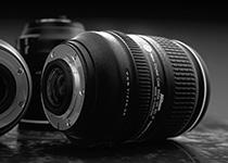 Φωτορεαλισμός Nikon Camera Lens
